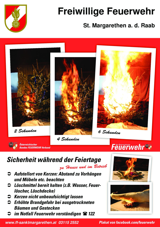 FF St.Margarethen/Raab :: Sicherheitstipps: Brandgefahren zur Advent ...